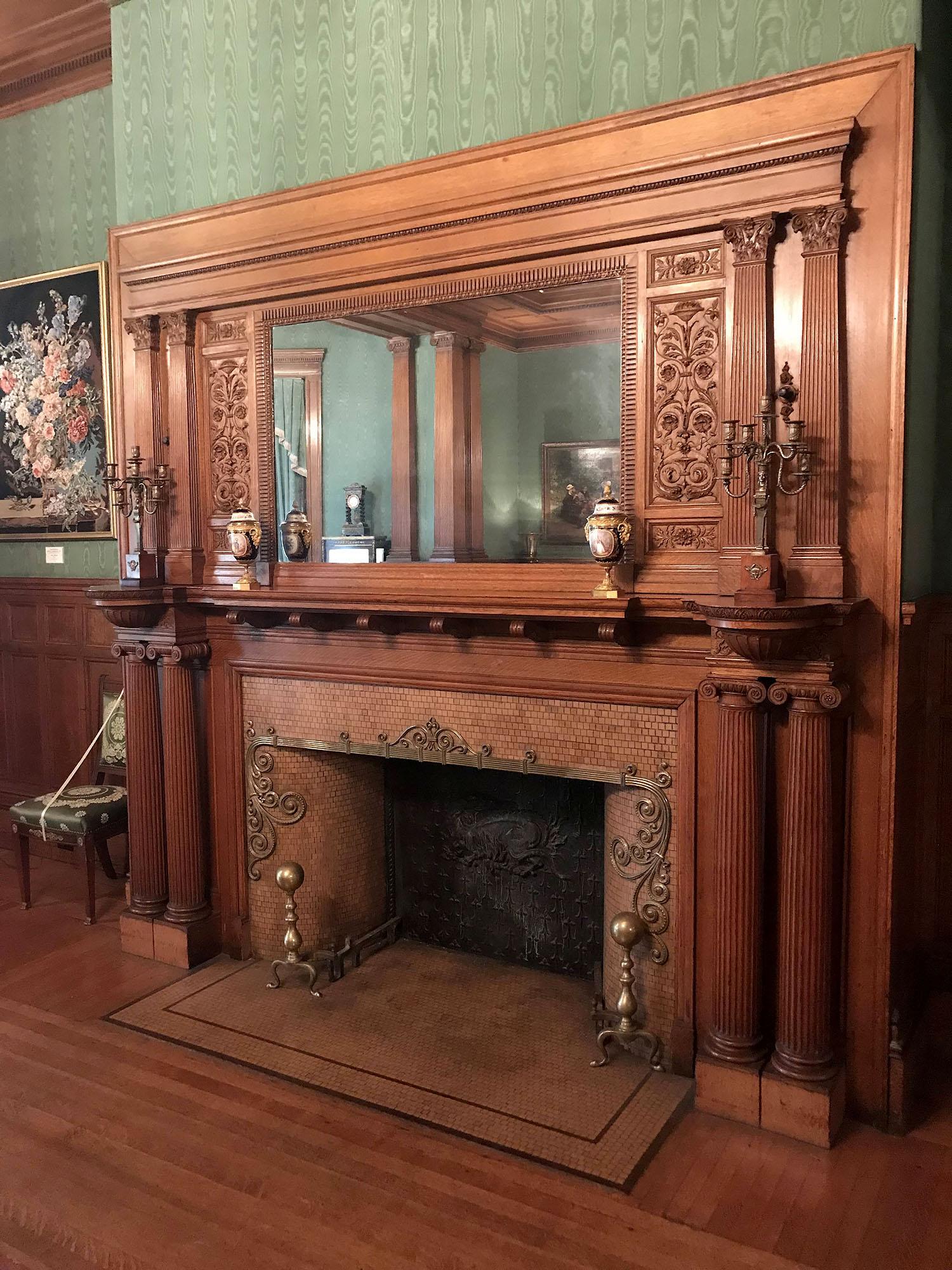 Cupples-Fireplace